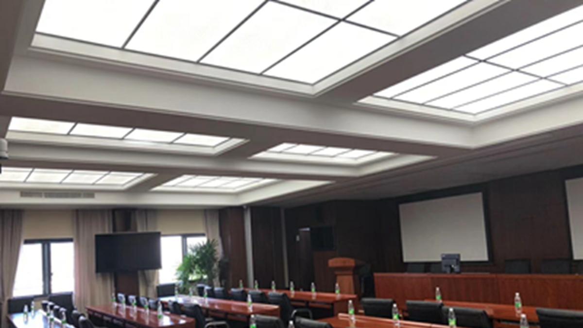 led panel backlit ceiling