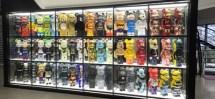 LED Backlit Shop Display Shelf
