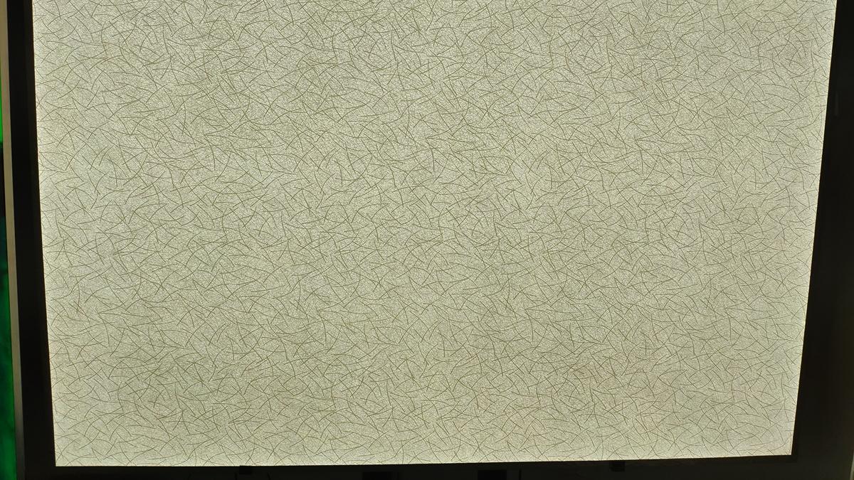 led panel backlit translucent material