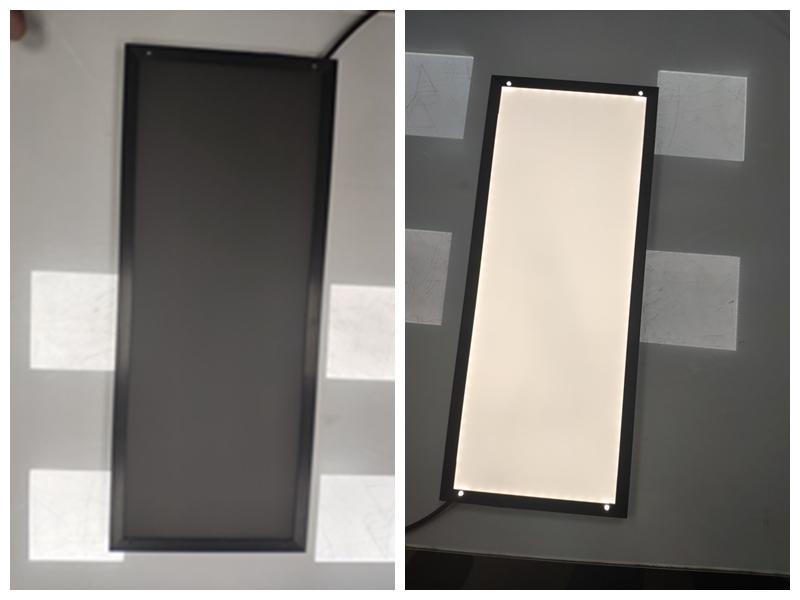 BLACK SURFACE LED PANEL