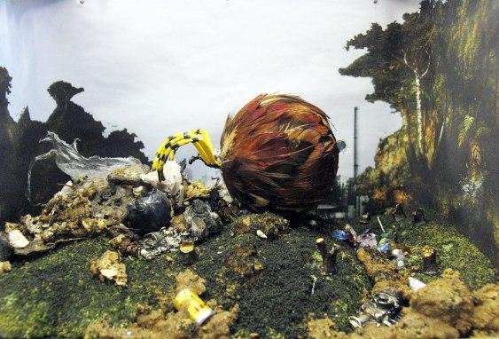Diorama: Trash Eater