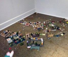 Preschoolers build a whole city. Image by participant.