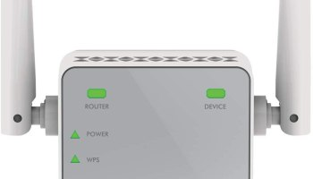 NETGEAR Wi-Fi Range Extender EX2700 - Coverage up to 600 sq.ft. and 10 devices with N300 Wireless Signal Booster and Repeater