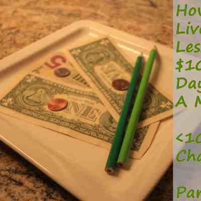 How I Lived On Less Than $10 A Day For A Month