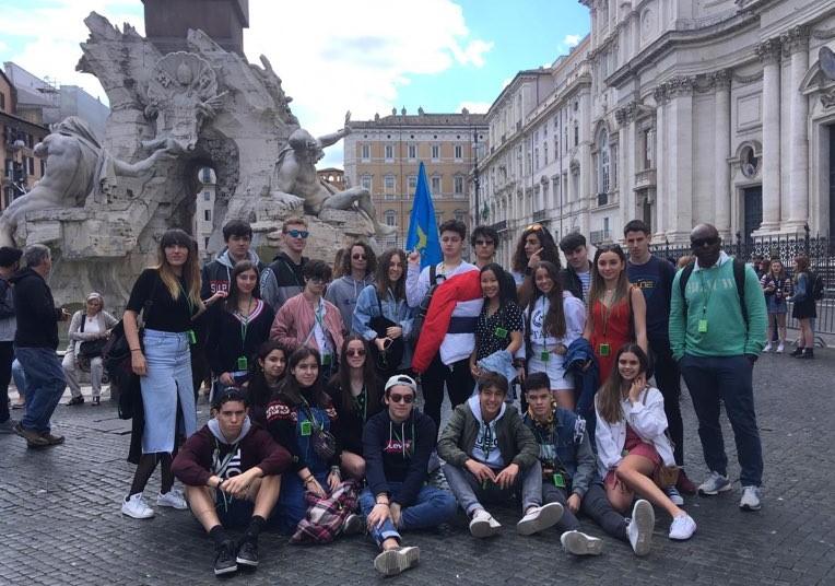 School trip to Italy