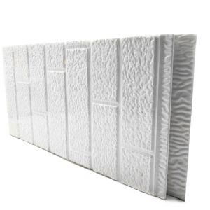 IND FACADE PANEL Standard Brick Pattern White color