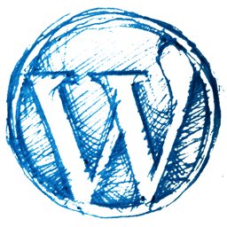 Hand Drawn WordPress Logo