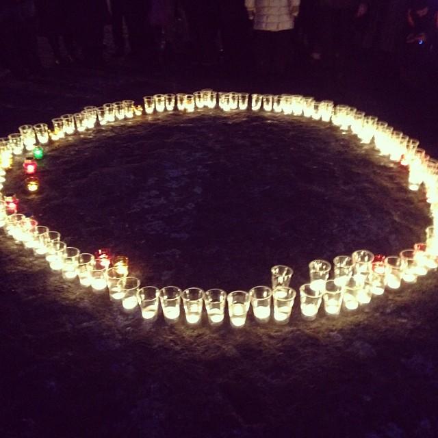 Свечи на Грушевского