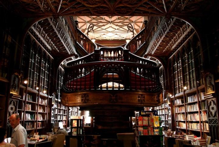 Магазин книги в Порто.