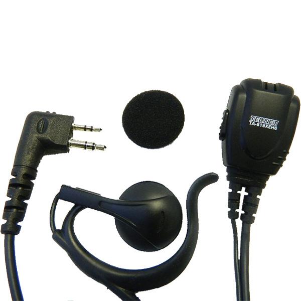 ta-819x, c style, earpiece speaker, radio earpiece