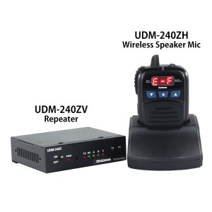 UDM Series, Maxon Radio, Vehicle Repeater, mobile radio