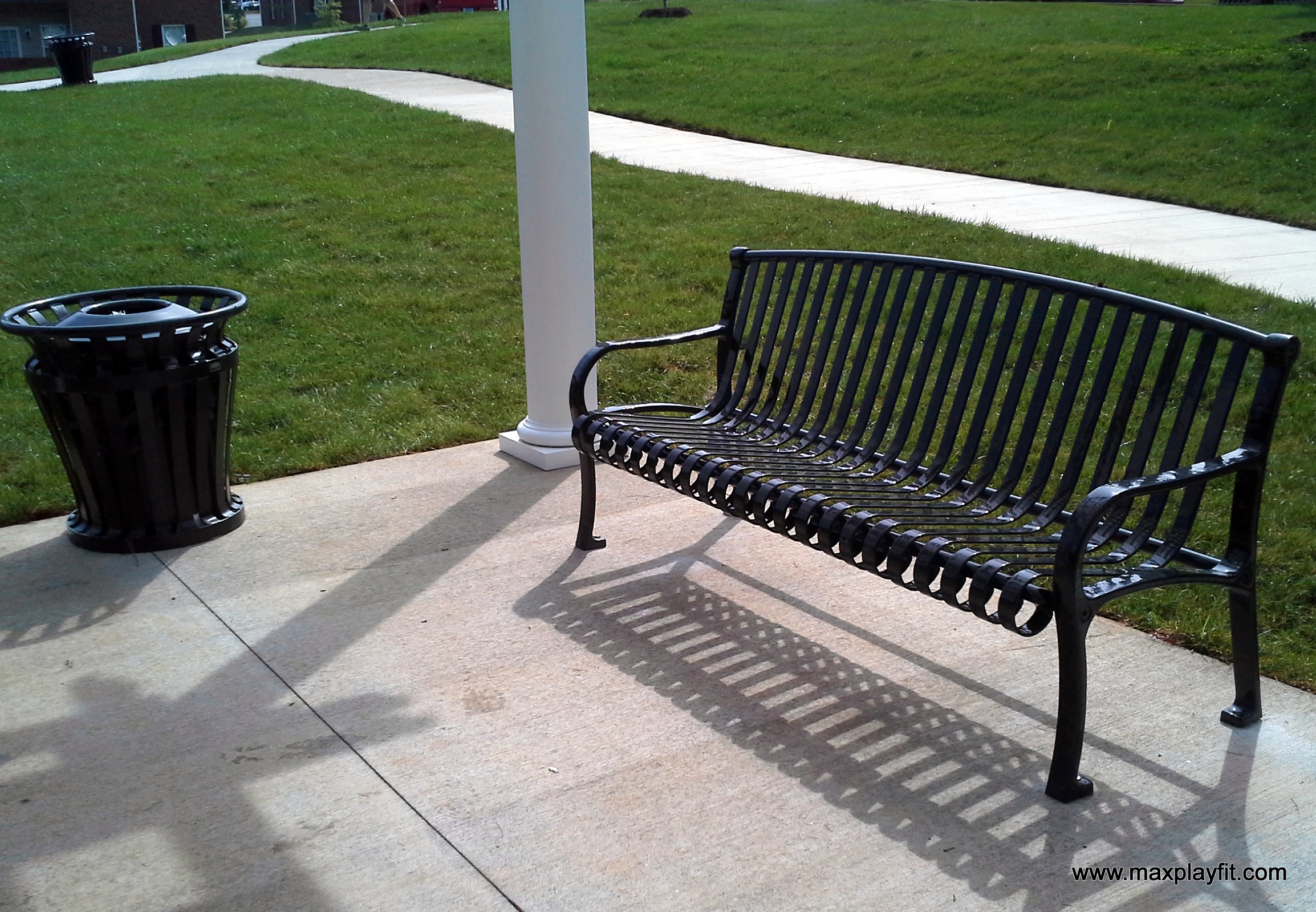 Commercial Outdoor Benches Max Play Fit Llcmax Play Fit