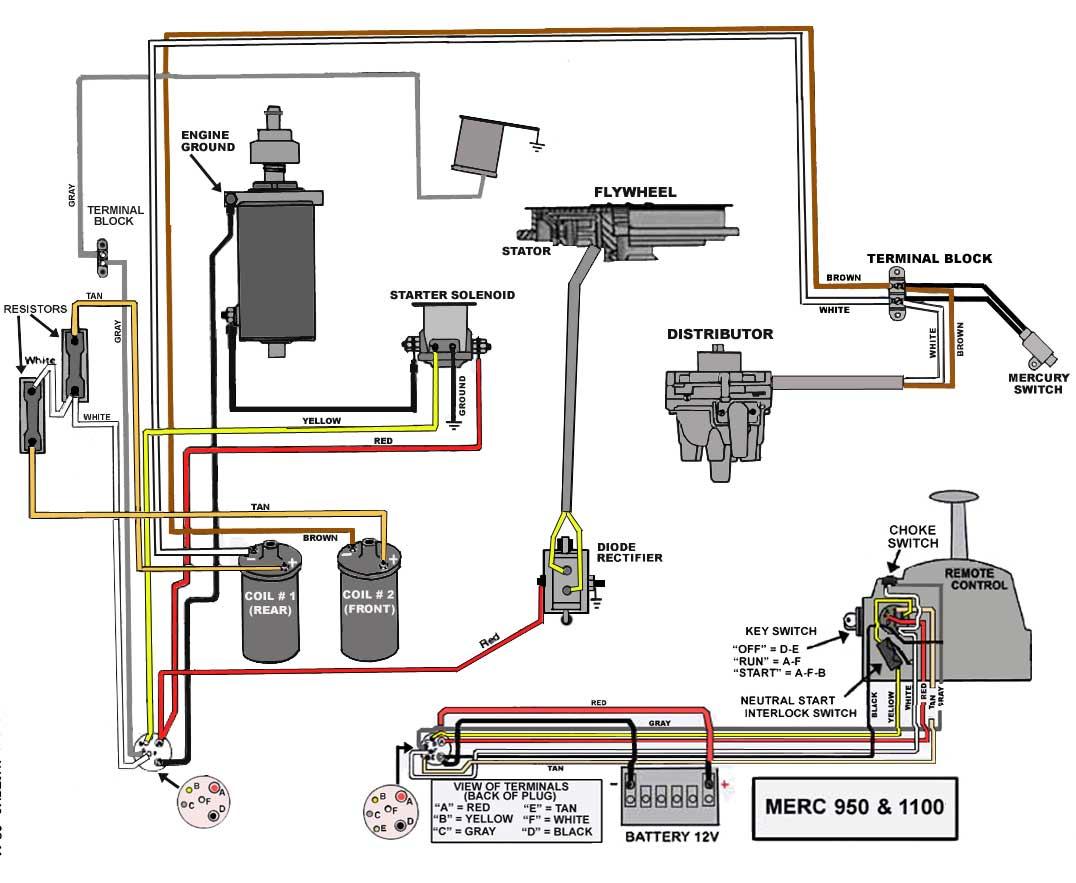 Mercury Outboard Wiring Diagrams -- Mastertech Marin