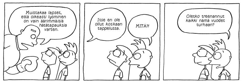 Maisa&Kaarina ilmestyi vuosina 1987-2015 Anna-lehdessä, kirjoittaja oli Sari Luhtanen. Runis ilmestyi verkossa Potku.net-sivustolla vuosina 2010-15, kirjoittaja Bahar Tokat. Biljoona Oy ilmestyy viime vuodesta lähtien verkossa Oikotie.fi-sivustolla, kirjoittaja Helena Hyvärinen.