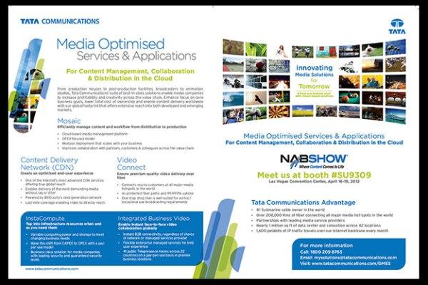 Advertorial for premium telecom journal
