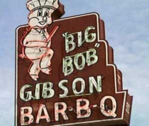 Big Bob Gibson's BBQ in Decatur