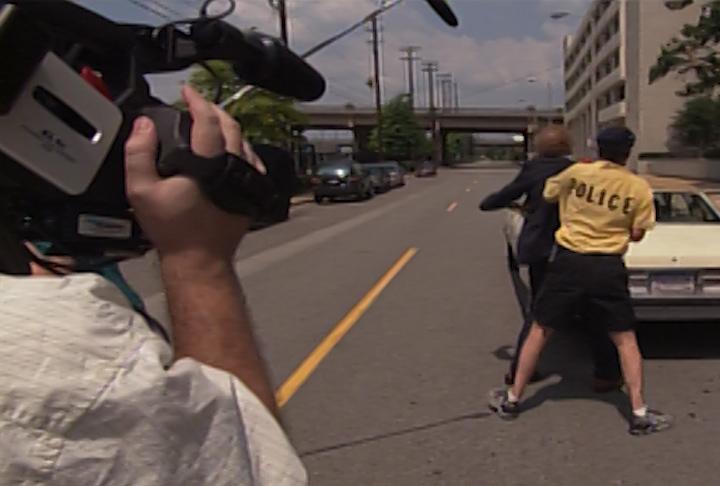 Scrambled Films - Sidewalk Scramble Production