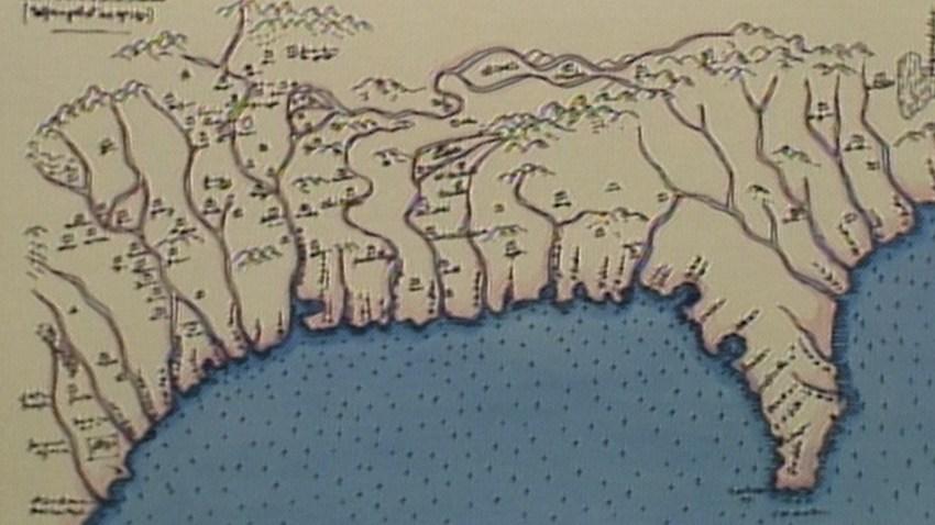 Early Map of Southeastern U.S.
