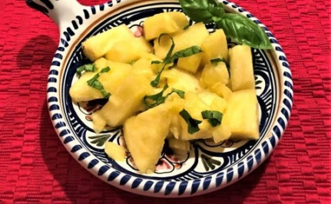 99% Vegan, 98% Gluten Free – Pineapple with Basil
