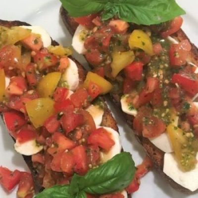 A Trip to Italy – Grilled Bruschetta
