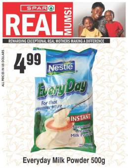 spar nestle real mums