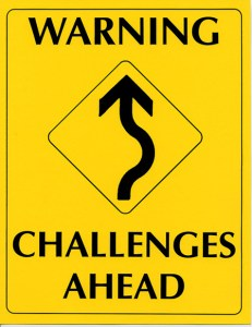 warning challenges ahead