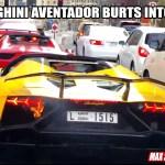 Lamborghini-Aventador-Bursts-into-Flames