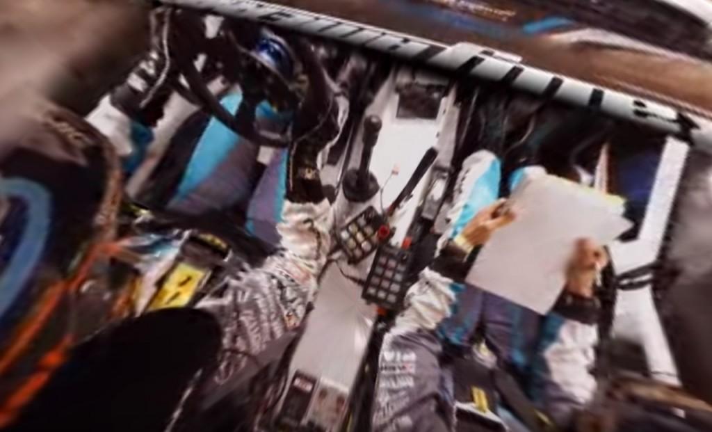 Subaru-WRX-Rally-in-360° Peer-Thru Technology