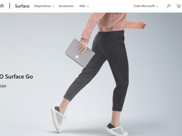 Surface Go ya a la venta