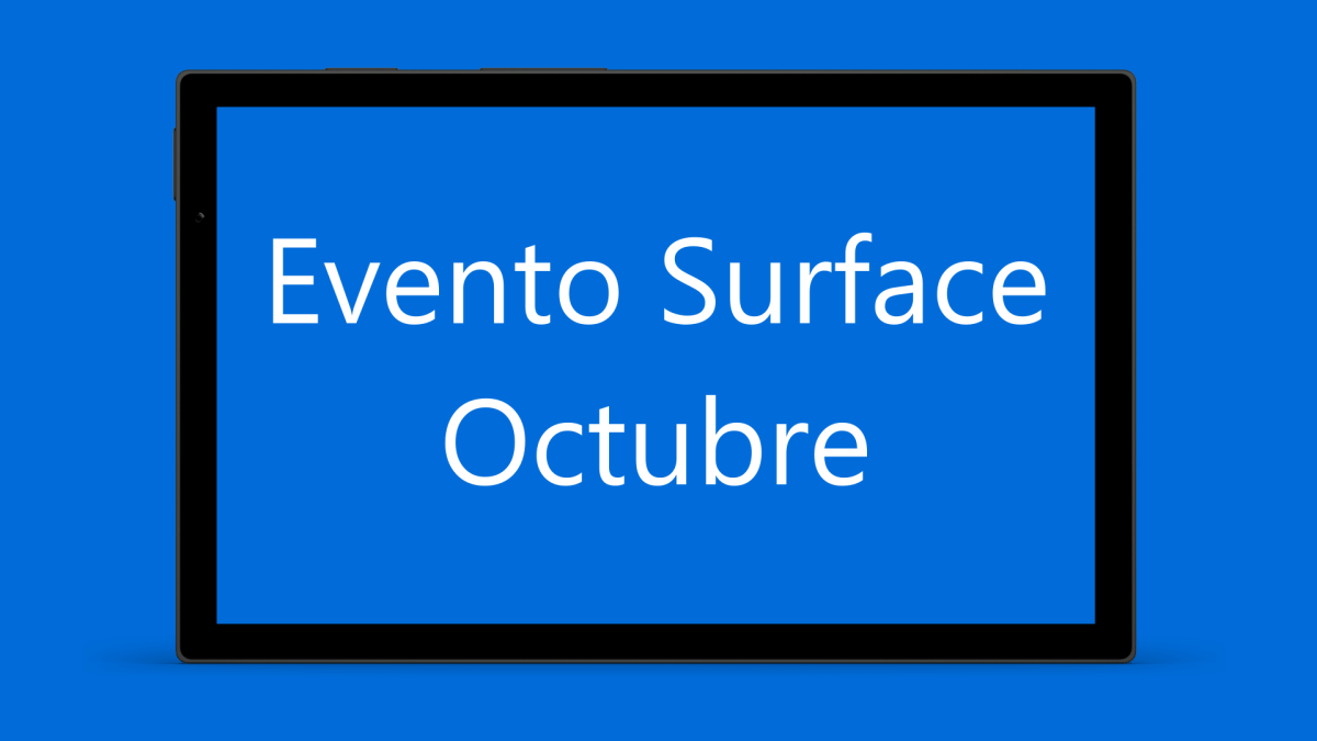 Evento Surface Octubre