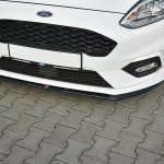 Front Splitter V 3 Ford Fiesta Mk8 St St Line Gloss Black Our Offer Ford Fiesta St Mk8 2018 Our Offer Ford Fiesta St Line Mk8 2017 Maxton Design