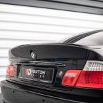 Rear Spoiler Lid Extension Bmw 3 E46 Coupe Preface M3 Csl Look For Painting Our Offer Bmw Seria 3 E46 Maxton Design
