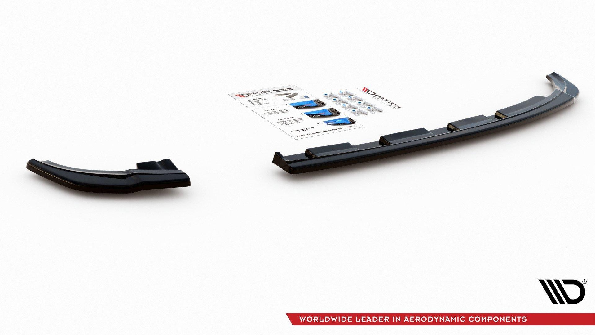 Rear Side Splitters V 2 Vw Polo Gti Mk6