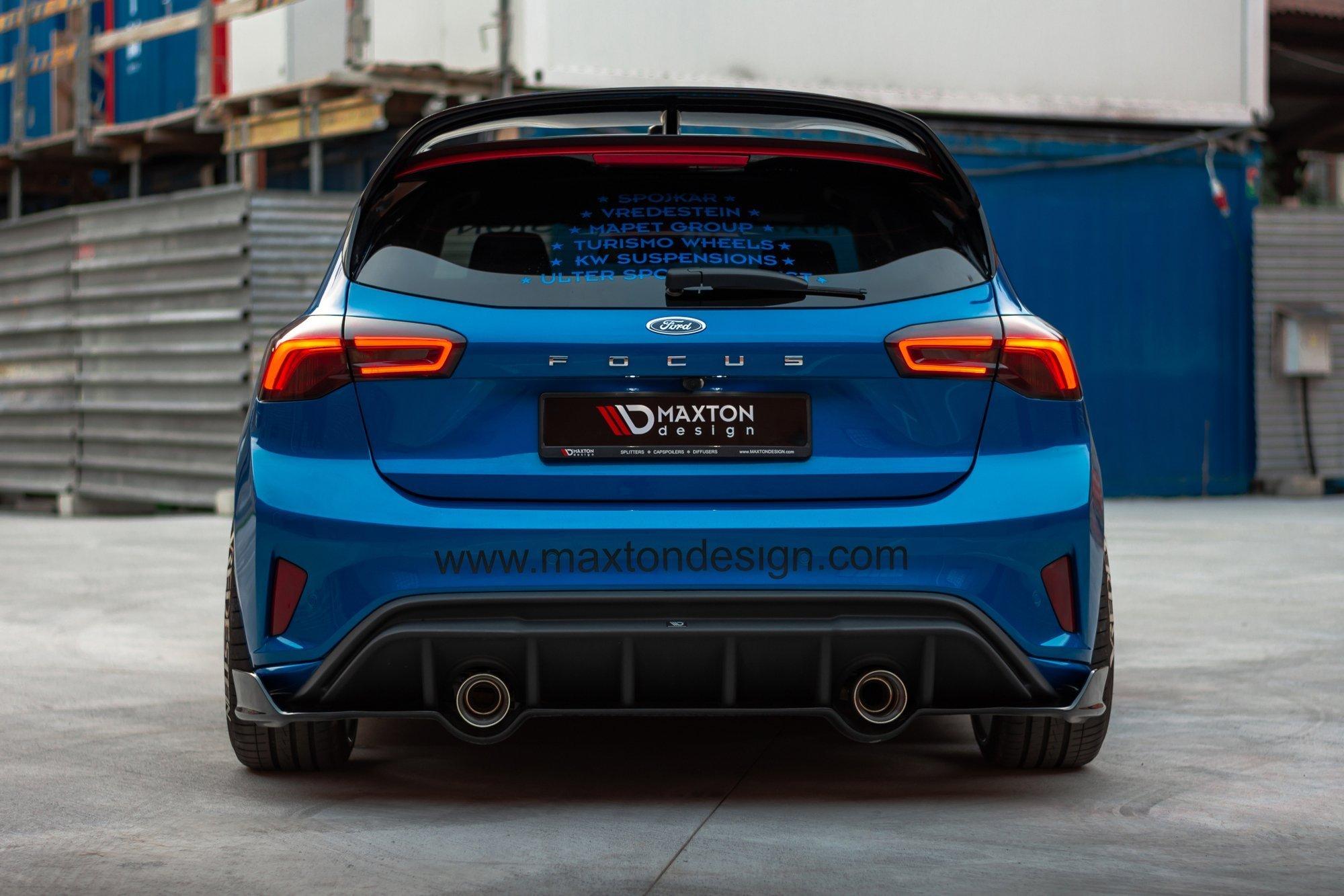 rear splitter ford focus mk4 st line