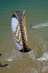 Packing up Flysurfer Kites