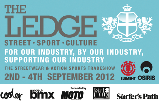 The Ledge – Action Sports Tradeshow 2-4th September