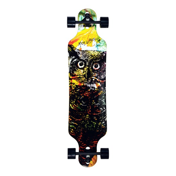 40017 - Atom Drop Through Longboard - 40 Inch (Owl)