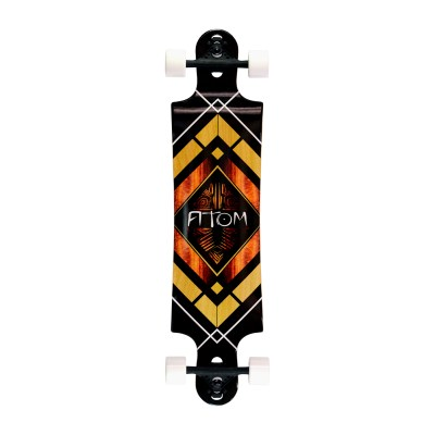 40018 - Atom Double Drop Longboard - 38 Inch (Woody Diamond)