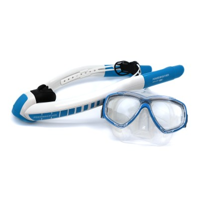 Ameo POWERBREATHER Beach Edition Snorkel and Mask