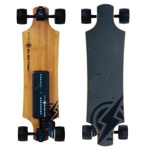 40410 - Atom Electric B10X All-Terrain Longboard Skateboard - 90Wh Lithium Battery - 1000W Motor