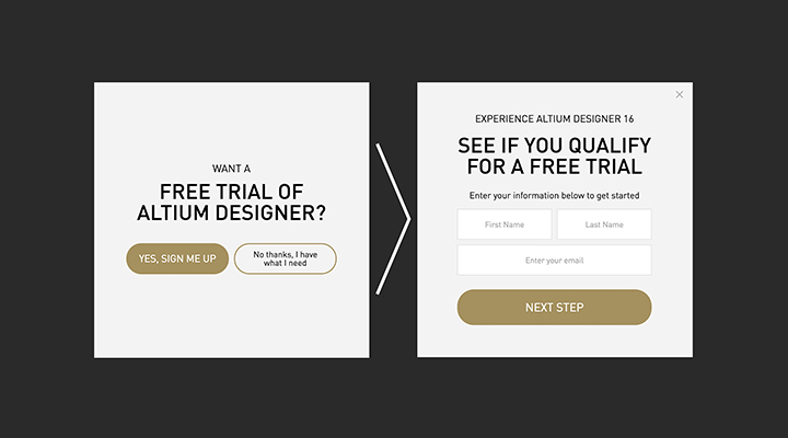 How to create exit-intent popup