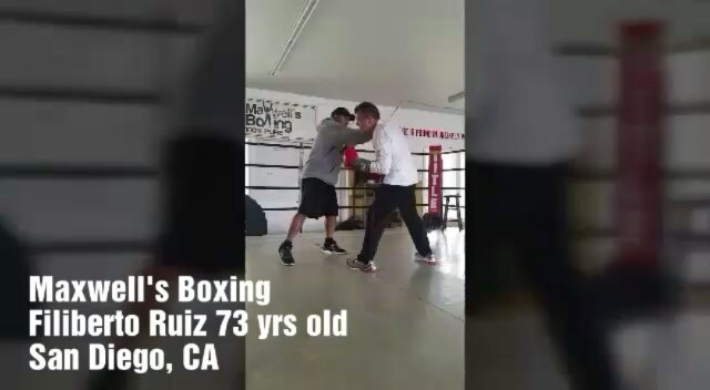 We miss Filiberto! One of our most inspiring students! At 73 years old and fighting Parkinsons, he's a warrior to our eyes! An awesome soul! We hope for a safe and strong recovery #boxing #sandiegoboxing #gyms #sdgyms #fitness #sdfitness #strength #inspire #parkinsons #fightparkinsons #workout #sandiego #miramar #miramesa #pq #scrippsranch #poway #rb #lajolla #delmar #maxwellsboxing #gratitude