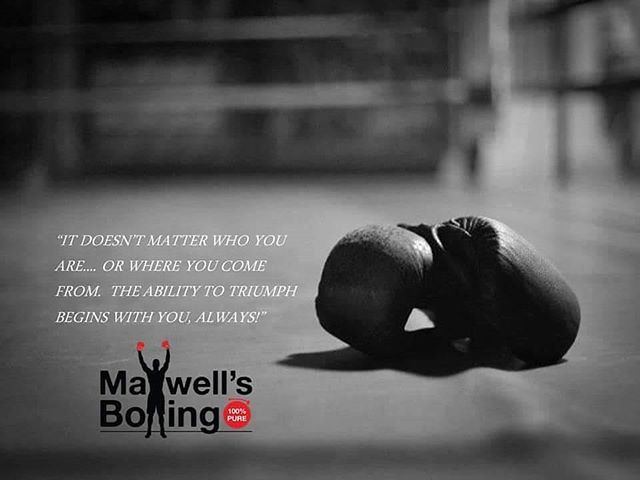 Good morning!  Take that step forward! Baby steps... Explore the game of pure boxing! We coach all levels, youths and adults.  Affordable rates, youths $60/Mo, adults $70/Mo - unlimited training!  No hidden fees or long-term contracts.  We pride ourselves with a positive culture! Family owned & insured!  For more details visit our website MaxwellsBoxing.com or email us at info@MaxwellsBoxing.com#boxing #sandiegoboxing #fitness #fit #sandiegofitness #gyms #sdgyms #inspire #grit #health #sandiego #miramar #miramesa #poway #pq #scrippsranch #lajolla #delmar #maxwellsboxing #gratitude