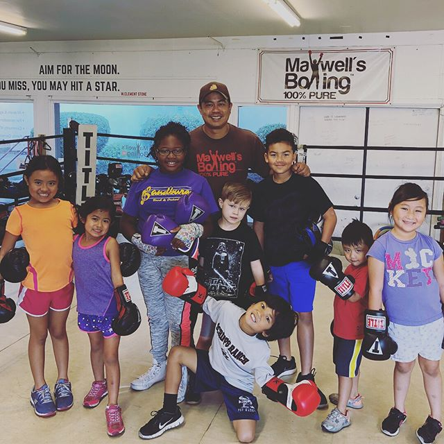 No rest for future champions! It may be vacation, but these youth arrived at 9am to train! ..#maxwellsboxing #boxing #youthboxing #riseandgrind #nodaysoff #dedication #workethic