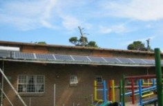 The 5Kwp photovoltaic system
