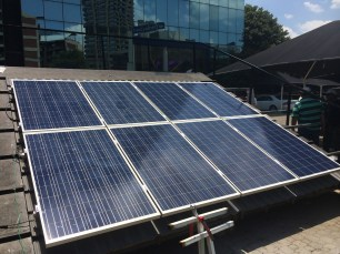 2 kWp training system at maxx-solar academy JHB