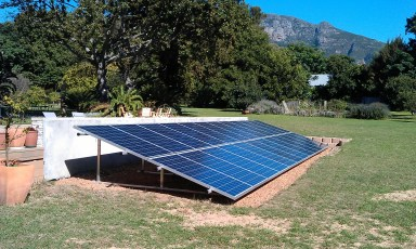 4kW system in Cape Town
