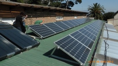 5.5 kW system in Philippi, Cape Town
