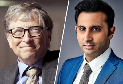Bill Gates Adar Poonawalla Serum Institute of India