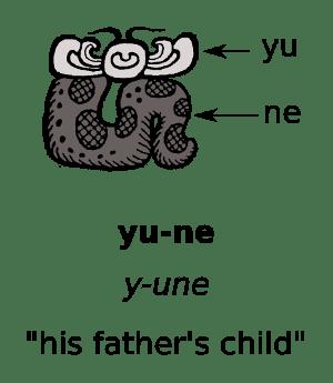 Maya-script-pronouns-yu